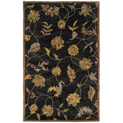 Majestic Hand Woven Black Area Rug Rug Size: 9 x 129