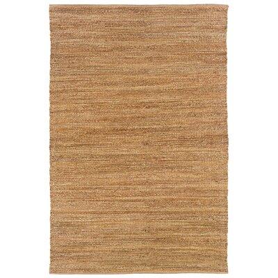 Sahara Hand-Woven Natural Area Rug Rug Size: 8 x 10