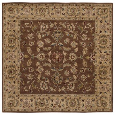 Shapes Brown/Gold Persian Rug Rug Size: 9 x 129