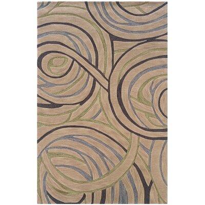 Fashion Ivory Area Rug Rug Size: 79 x 99