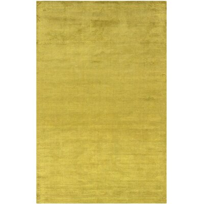 Satori Hand-Loomed Lime Area Rug Rug Size: Runner 25 x 79