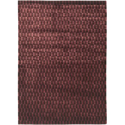 Super Soft Coco Red Rug Rug Size: 5 x 7