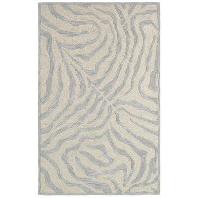 Fashion Taupe & Silver Shag Area Rug Rug Size: 8 x 10