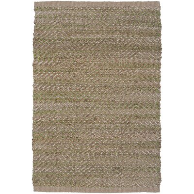 Natural Fiber Light Green Area Rug Rug Size: 8 x 10