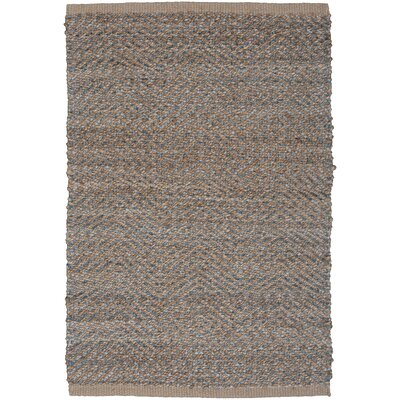 Natural Fiber Medium Gray Area Rug Rug Size: 5 x 8