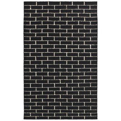 Tribeca Black Rug Rug Size: 5' x 8'