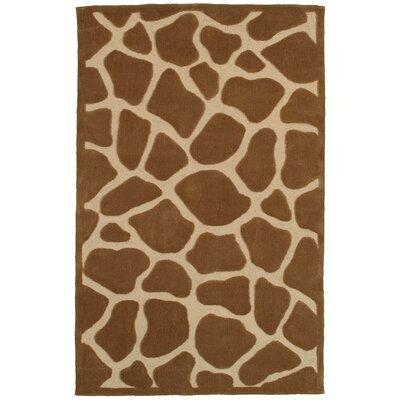 Fashion Natural Giraffe Area Rug Rug Size: 8 x 10