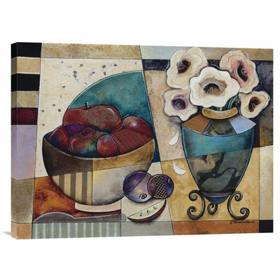 Floral Delight by Jennifer Bonaventura Graphic Art on Wrapped Canvas