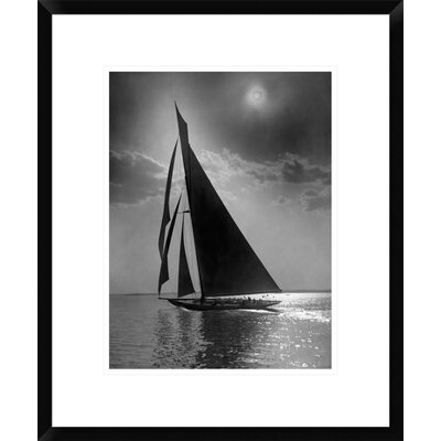 "The Vanitie During the America's Cup, CA. 1900-1910 by Edwin Levick Framed Photographic Print Size: 22"" H x 18"" W x 1.5"" D DPF-395135-1216-266"