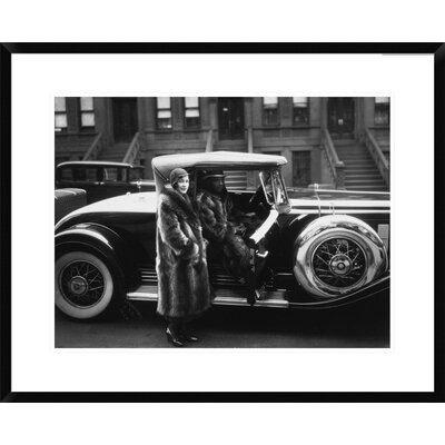 Photograph of Couple in New York, 1932 by James Van Der Zee Framed Photographic Print Size: 24