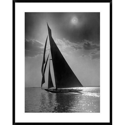 "The Vanitie During the America's Cup, CA. 1900-1910 by Edwin Levick Framed Photographic Print Size: 38"" H x 30"" W x 1.5"" D DPF-395135-2432-266"