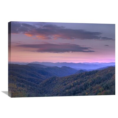 Nature Photographs Newfound Gap Great Smoky Mountains National Park North Carolina by Tim Fitzharris Photographic Print on Canvas Size: 24
