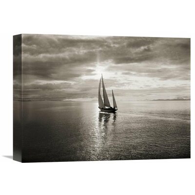 'Diamond Head Yacht' by Ray Krantz Photographic Print on Wrapped Canvas Size: 30