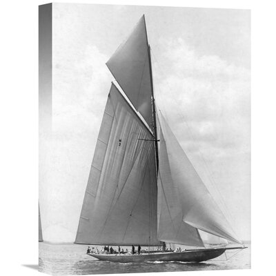 'The Vanitie During the America's Cup, 1910' by Edwin Levick Photographic Print on Wrapped Canvas GCS-375529-1216-142