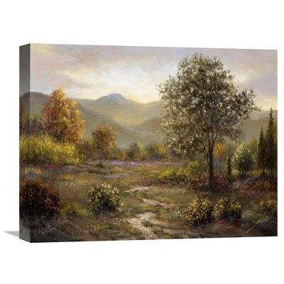 'Montree' by Sambataro Painting Print on Wrapped Canvas Size: 16