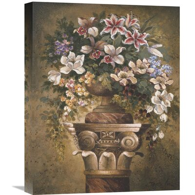'Victorian Romance II' by James Lee Original Painting on Wrapped Canvas Size: 20