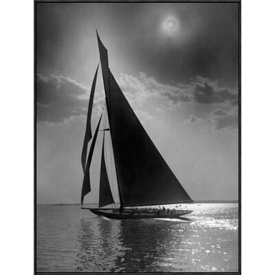 'The Vanitie During the America's Cup, CA. 1900-1910' by Edwin Levick Framed Photographic Print GCF-395135-3040-175
