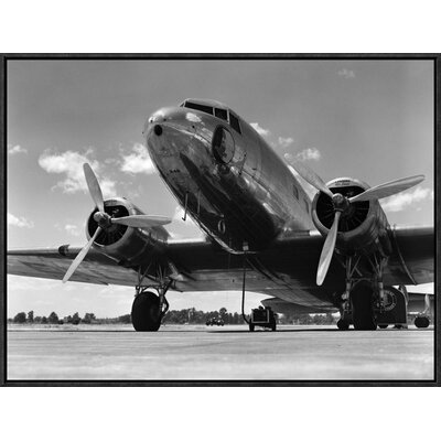'1940s Passenger Airplane' by H. Armstrong Roberts Framed Photographic Print Size: 18
