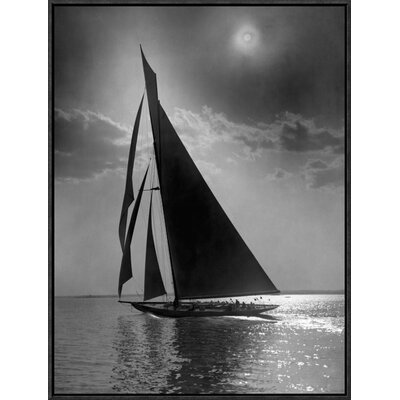 'The Vanitie During the America's Cup, CA. 1900-1910' by Edwin Levick Framed Photographic Print GCF-395135-1824-175
