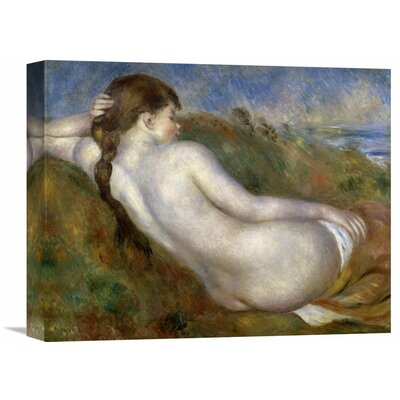 'Reclining Nude' by Pierre-Auguste Renoir Painting Print on Wrapped Canvas Size: 28.69