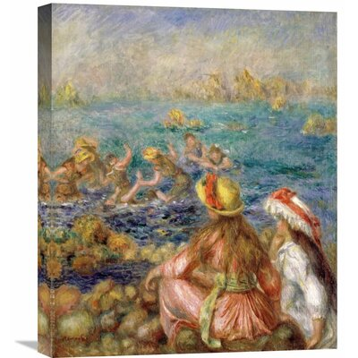 'Bathers' by Pierre-Auguste Renoir Painting Print on Wrapped Canvas GCS-279618-22-142