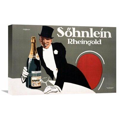 'Sohnlein' by Stephan Krotowski Vintage Advertisement on Wrapped Canvas Size: 23.98