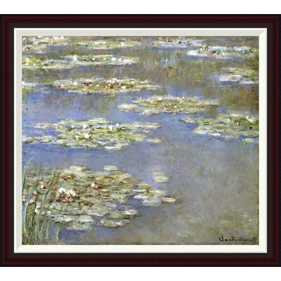 Nymph�as, 1905 by Claude Monet Framed Painting Print GCF-265189-30-288
