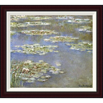 Nymph�as, 1905 by Claude Monet Framed Painting Print GCF-265189-22-288