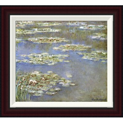 Nymph�as, 1905 by Claude Monet Framed Painting Print GCF-265189-16-288