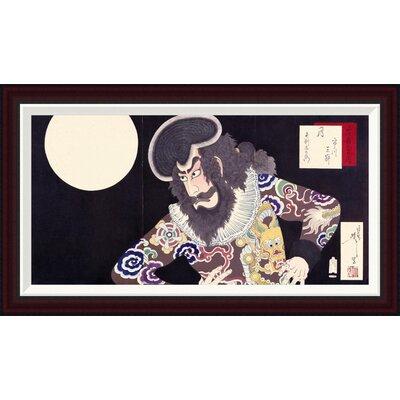 The Actor Ichikawa Danjuro IX by Tsukioka Yoshitoshi Framed Painting Print GCF-265824-30-288