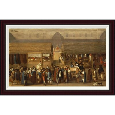 El Parian by Mexican School Framed Painting Print Size: 22