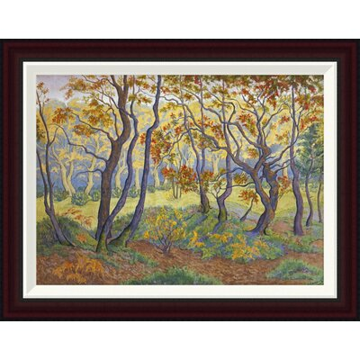 The Clearing by Paul Ranson Framed Painting Print Size: 20.08
