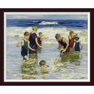The Bathers by Edward Henry Potthast Framed Painting Print GCF-268400-36-288