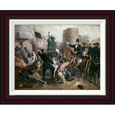 Lincoln In City Point, Virginia by Gustav Bartsch Framed Painting Print Size: 16.2