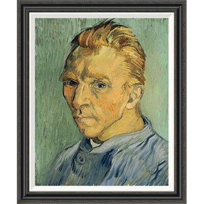 'Self Portrait Without Beard' by Vincent Van Gogh Framed Painting Print GCF-265750-30-194