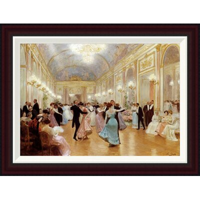 The Ball by Victor Gilbert Framed Painting Print Size: 19.47