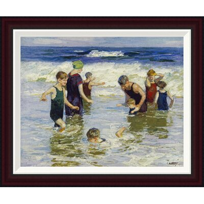 The Bathers by Edward Henry Potthast Framed Painting Print GCF-268400-22-288