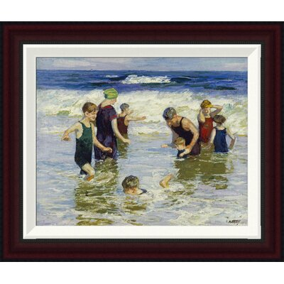 The Bathers by Edward Henry Potthast Framed Painting Print GCF-268400-16-288