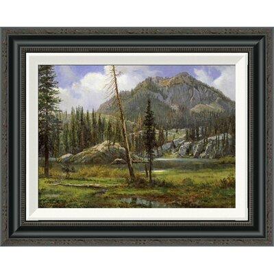 'Sierra Nevada Mountains' by Albert Bierstadt Framed Painting Print GCF-267710-16-194