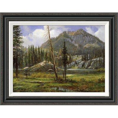 'Sierra Nevada Mountains' by Albert Bierstadt Framed Painting Print GCF-267710-22-194