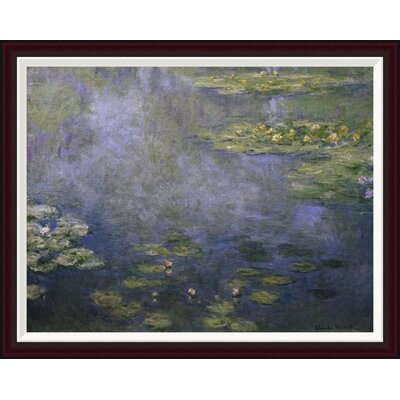 Water Lilies (Nymph�as) IV by Claude Monet Framed Painting Print GCF-278734-36-288