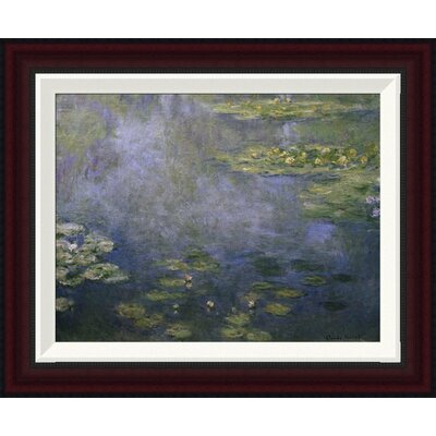 Water Lilies (Nymph�as) IV by Claude Monet Framed Painting Print GCF-278734-16-288