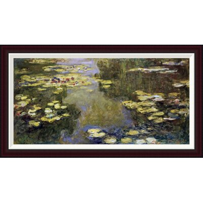 Water Lily Pond (Le Bassin aux Nymph�as) by Claude Monet Framed Painting Print GCF-278712-36-288