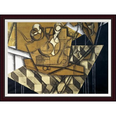 Teacups by Juan Gris Framed Painting Print Size: 29.56
