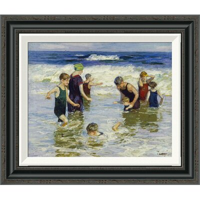'The Bathers' by Edward Henry Potthast Framed Painting Print GCF-268400-16-194