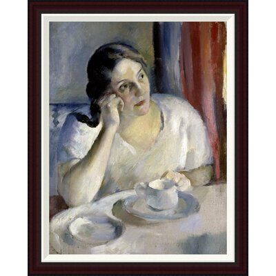 A Cup of Tea La Tasse de Th by Henri Ottmann Framed Painting Print GCF-282647-30-288