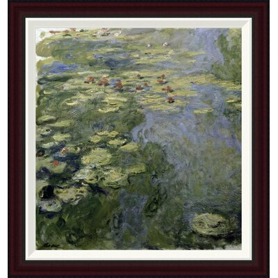 Water Lilies (Nymph�as) II by Claude Monet Framed Painting Print GCF-278732-22-288