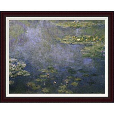 Water Lilies (Nymph�as) IV by Claude Monet Framed Painting Print GCF-278734-30-288
