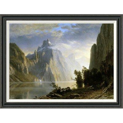 'A Lake in the Sierra Nevada' by Albert Bierstadt Framed Painting Print GCF-276733-36-194