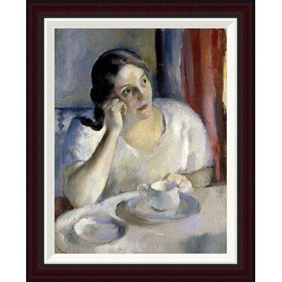 A Cup of Tea La Tasse de Th by Henri Ottmann Framed Painting Print GCF-282647-22-288